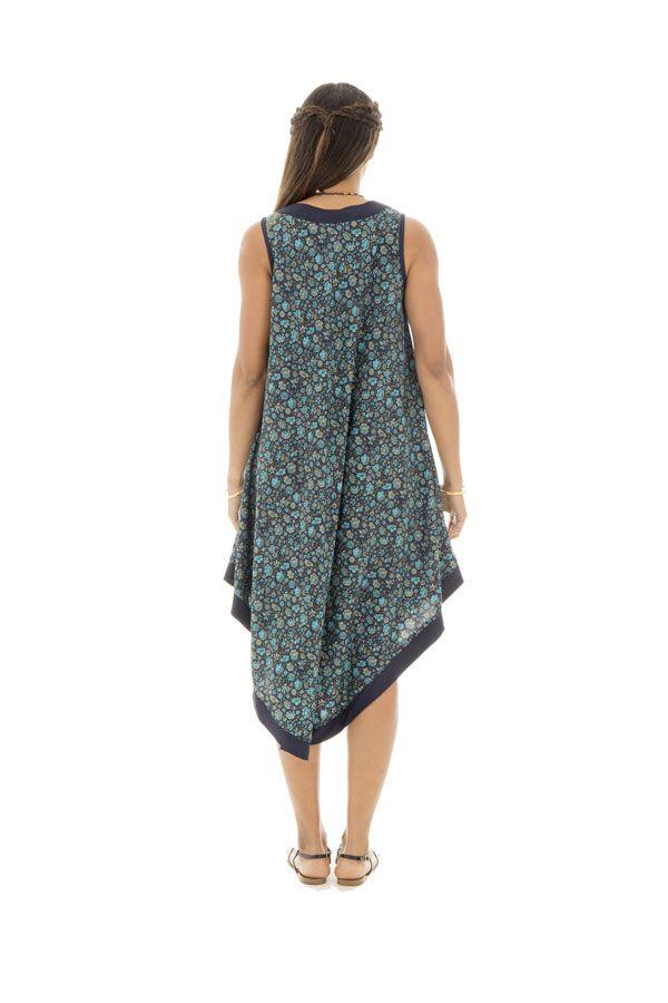 robe ample et agréable avec col v et coupe asymétrique Nerdanel 289840