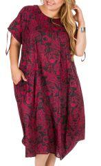 Robe ample et féminine femme grande taille Meily 306985