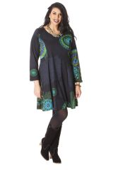 Robe Anthracite King size Colorée et Féminine Mazzi 286251