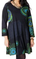Robe Anthracite King size Colorée et Féminine Mazzi 286772