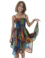 Robe Asymétrique à mandalas pour fillette Louange Multicolore 296144
