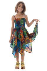 Robe Asymétrique à mandalas pour fillette Louange Multicolore 296145