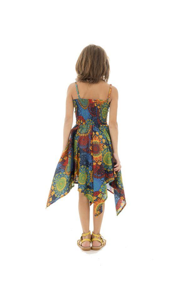 Robe Asymétrique à mandalas pour fillette Louange Multicolore 296146