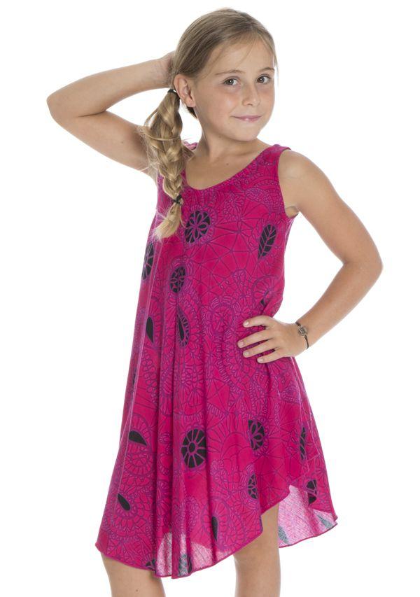 b8032fcb4f8 Robe Asymétrique pour enfant Ethnique et Colorée Marie-Louise 295800. Loading  zoom