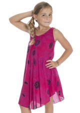 Robe Asymétrique pour enfant Ethnique et Colorée Marie-Louise 295800