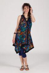 robe asymétrique sans manche ethnique Kaitleen 288247