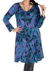 Robe automne hiver Originale colorée pour femme Pulpeuse mayuchan 300413