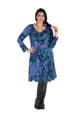 Robe automne hiver Originale colorée pour femme Pulpeuse mayuchan 300416