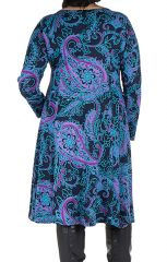 Robe automne hiver Originale colorée pour femme Pulpeuse mayuchan 300418