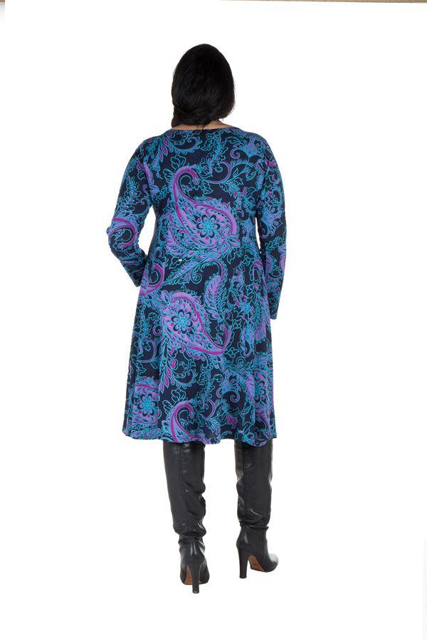 Robe automne hiver Originale colorée pour femme Pulpeuse mayuchan 300419