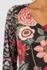 Robe avec un imprimé fleuri look bohème tendance  Jinah 305441