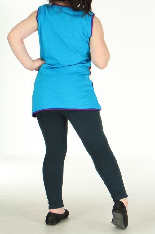 Robe bleue imprimée pour fille Néréa 270800