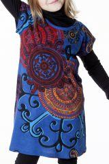 Robe bohème pour petite fille à motifs baroques 287447