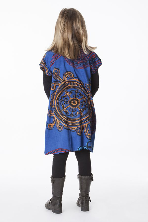 Robe bohème pour petite fille à motifs baroques 287450