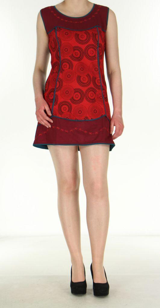 Robe bordeaux pour femme Ambre 269920