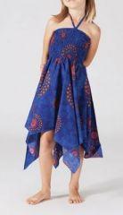 Robe bustier fille bleue Veronica 267995