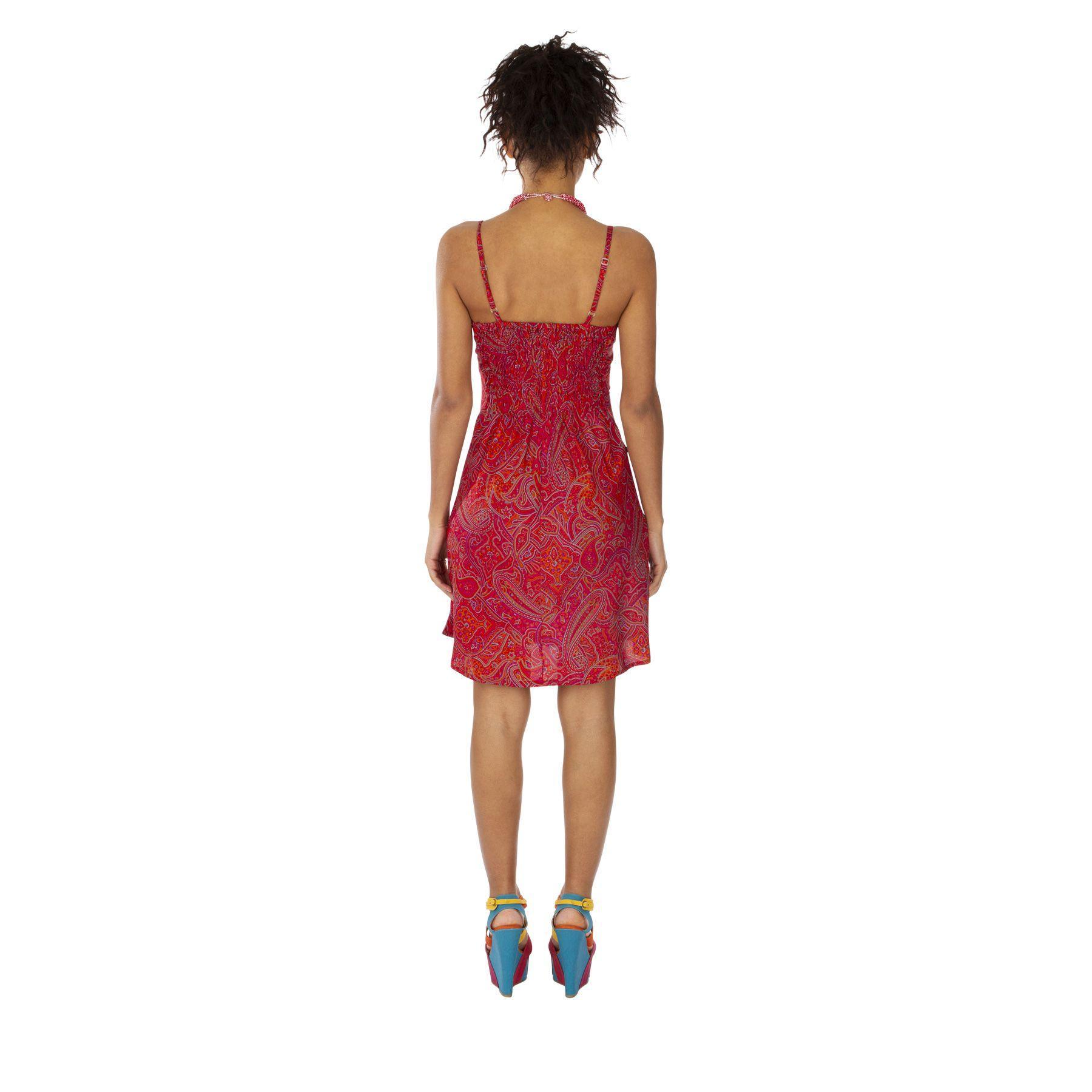 Robe caraco courte robe été façon nuisette Willa