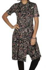 Robe chemise collection hiver style original Aloha