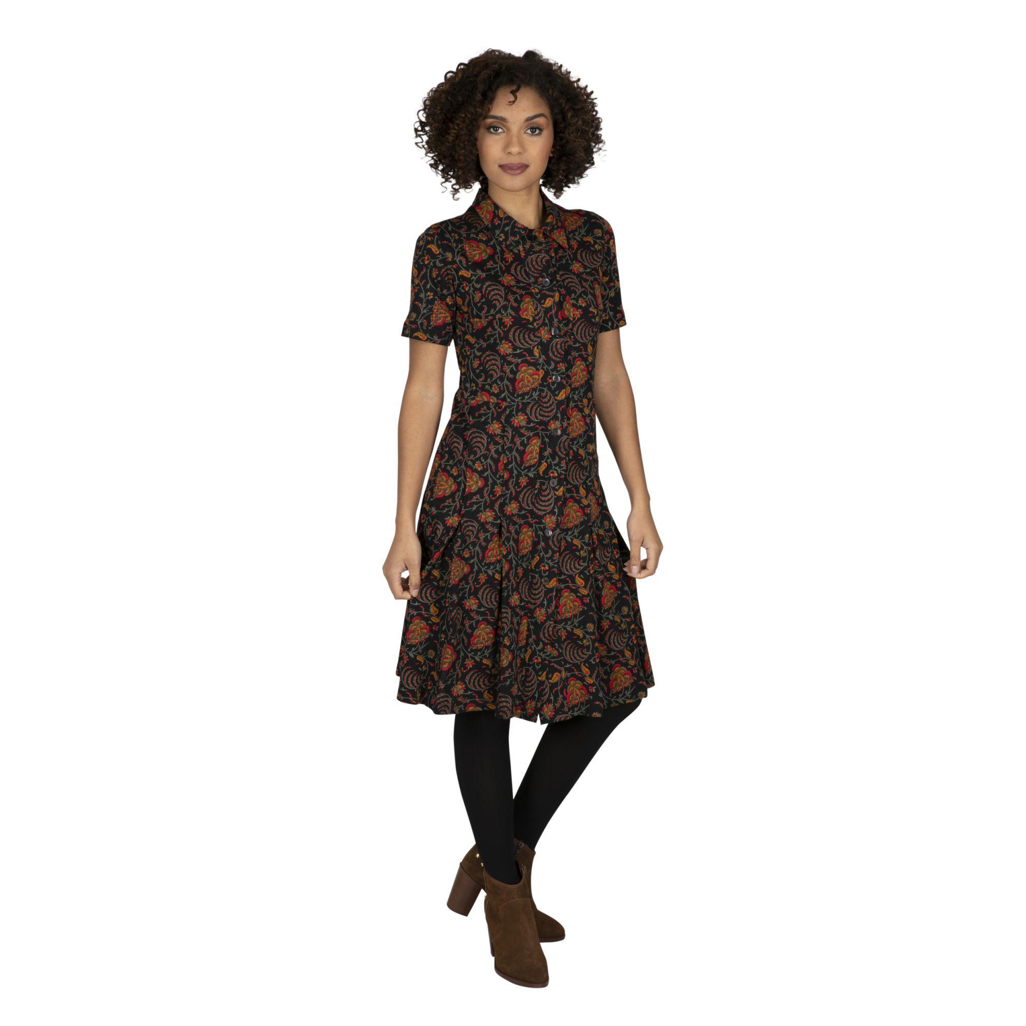 Robe chemise originale et féminine pour l\'hiver Vana