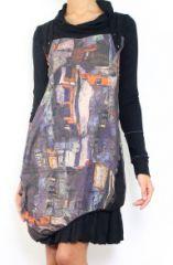 Robe chic originale avec des manches longues Cinthya 304503