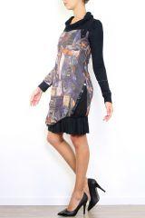 Robe chic originale avec des manches longues Cinthya 304504