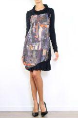 Robe chic originale avec des manches longues Cinthya 304505