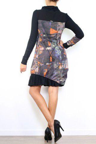 Robe chic originale avec des manches longues Cinthya 304506