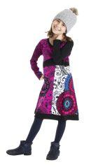 Robe colorée aux imprimés originaux pour fille 302198