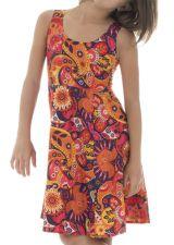 Robe colorée et estivale pour enfant avec imprimés fantaisies Lola 294573