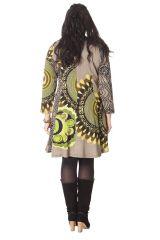 Robe Colorée et Féminine King size Sable et Anis Mazzi 286256