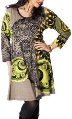 Robe Colorée et Féminine King size Sable et Anis Mazzi 286771
