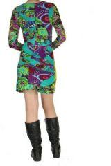 Robe colorée moulante Nayssa 267366