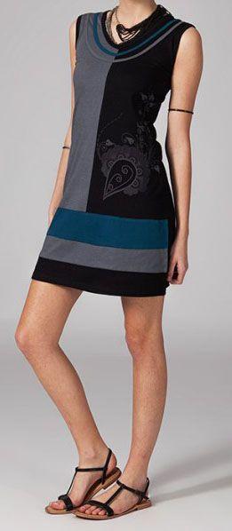 Robe colorée pas chère Nabilla 269071