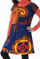 Robe colorée pour petite fille pas chère avec un imprimé 287434