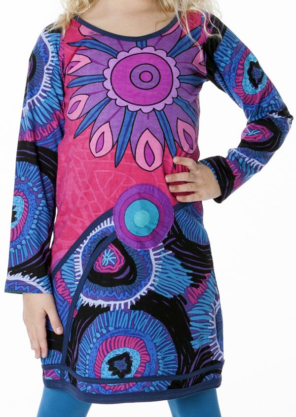 Robe colorée style espagnol pour enfant 287215