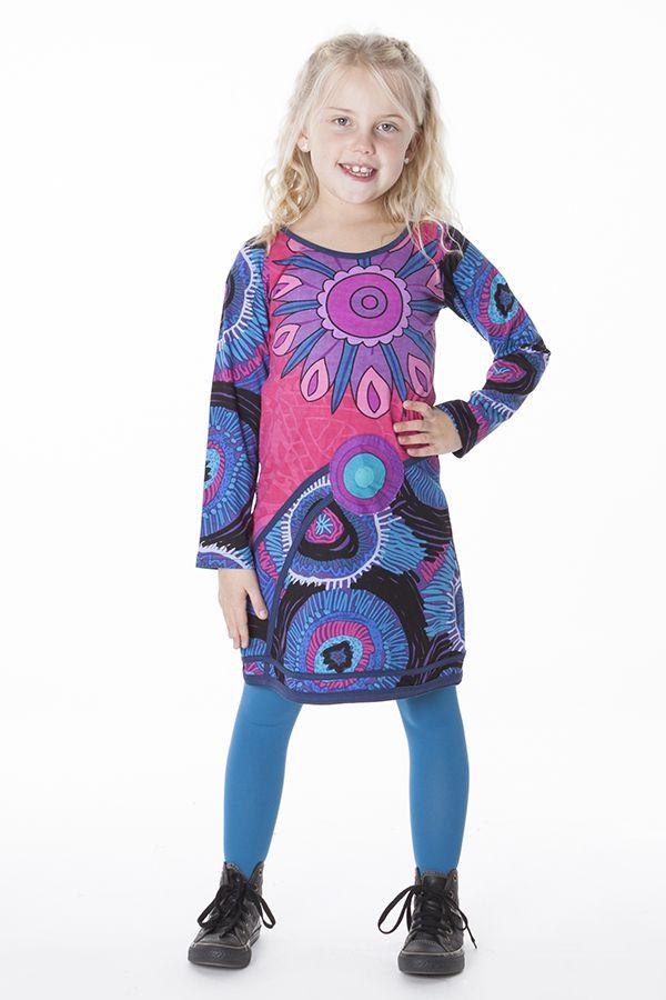Robe colorée style espagnol pour enfant 287216