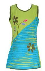 Robe colorée verte pour fille Laura 268618