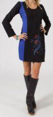 Robe courte à manches longues Ethnique et Originale Janice 274849