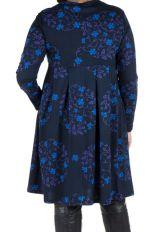 Robe courte à poche et motifs colorés Huà 301164