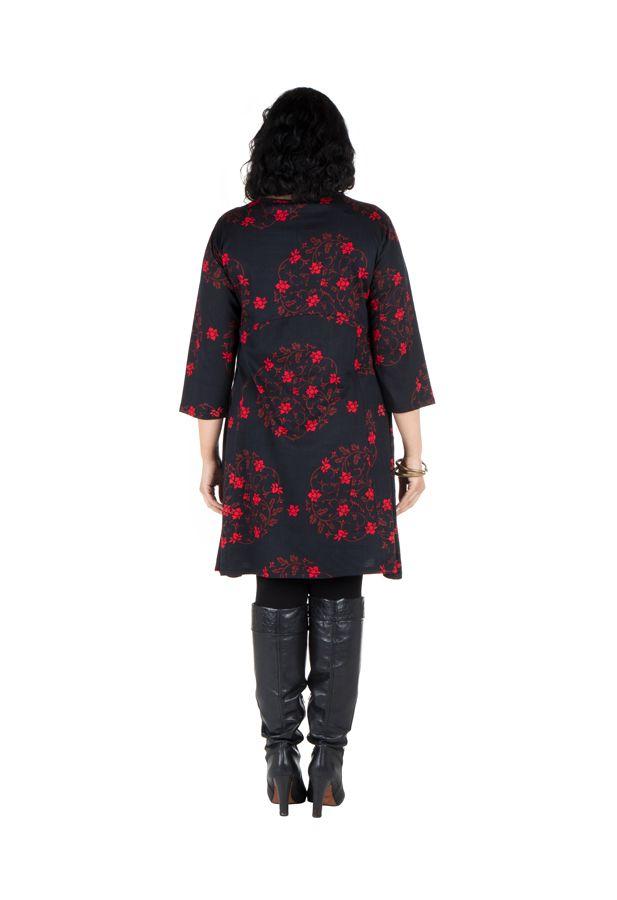 Robe courte a poche tendance ethnique 2018 Tullugak 301290