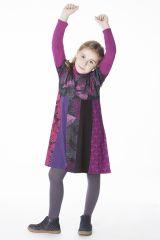 Robe courte avec plusieurs imprimés pour enfant 287168