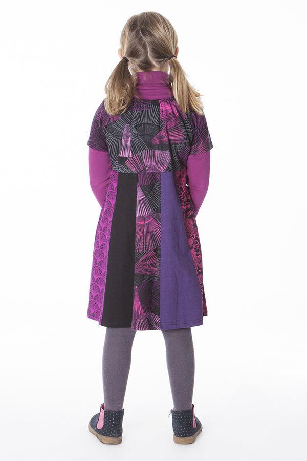 Robe courte avec plusieurs imprimés pour enfant 287170