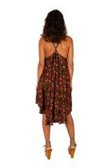 Robe courte avec un imprimé floral pour un style bohème Leora 306323