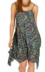 Robe courte chic asymétrique idéale pour mariage Kassy 307031