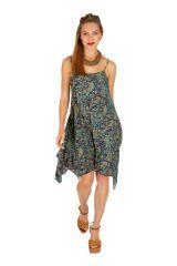 Robe courte chic asymétrique idéale pour mariage Kassy 307032