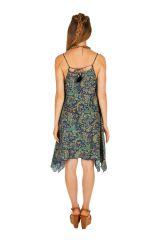 Robe courte chic asymétrique idéale pour mariage Kassy 307033