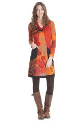 Robe courte col en V Ethnique et Originale Ludovica 285359