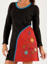 Robe courte collection Hiver Ethnique et Originale Annie Noire 277899