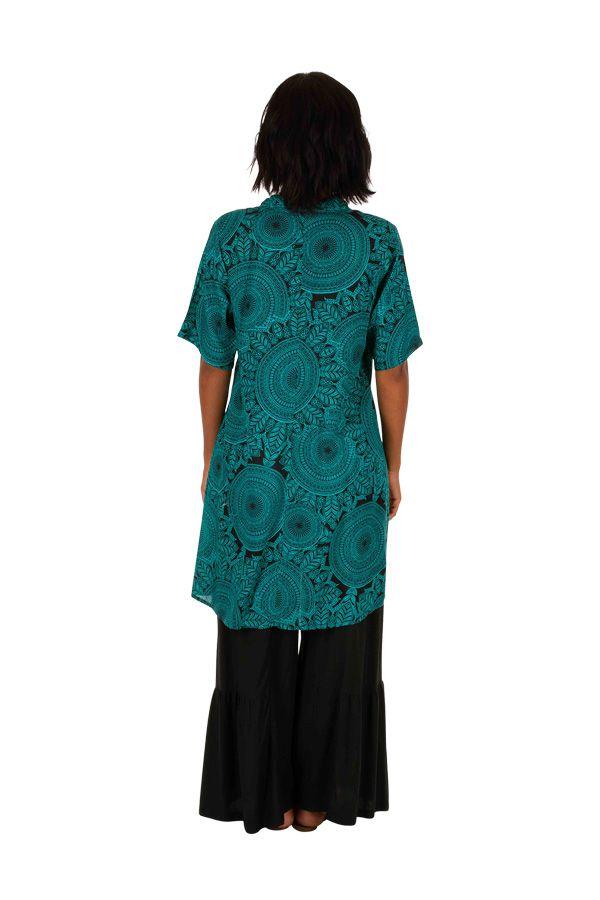 Robe courte colorée à manches courtes effet plissé Zarah 306335