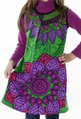 Robe courte colorée pour fille sans manche 287159